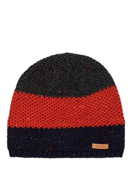 Barts Mütze ASMUND, Farbe: DUNKELGRAU/ DUNKELORANGE/ DUNKELBLAU (Bild 1)