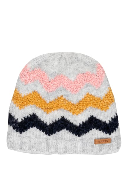 Barts Mütze DARLEEN , Farbe: HELLGRAU/ DUNKELBLAU/ ROSA (Bild 1)