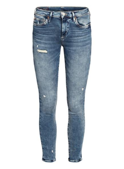 TRUE RELIGION Skinny Jeans HALLE LACEY , Farbe: DEEP BLUE DEEP BLUE (Bild 1)