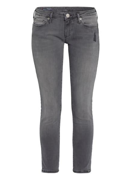 TRUE RELIGION Jeans CORA Super Skinny Fit, Farbe: BLACK WASH (Bild 1)