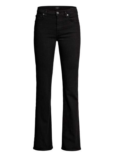 CITIZENS of HUMANITY Flared Jeans EMANNUELLE, Farbe: PLUBK PLUSH BLACK (Bild 1)