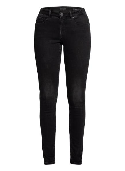 OPUS Skinny Jeans ELMA, Farbe: 7419 soft washed black (Bild 1)