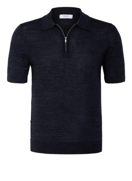 REISS Strick-Poloshirt MAXWELL Slim Fit, Farbe: DUNKELBLAU (Bild 1)