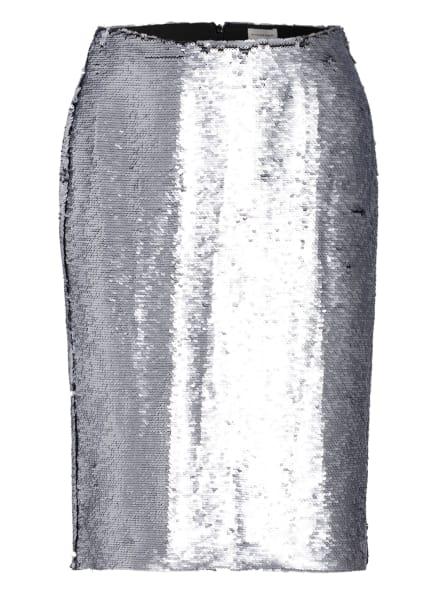 BY MALENE BIRGER Rock PALOMIA mit Paillettenbesatz, Farbe: SILBER (Bild 1)
