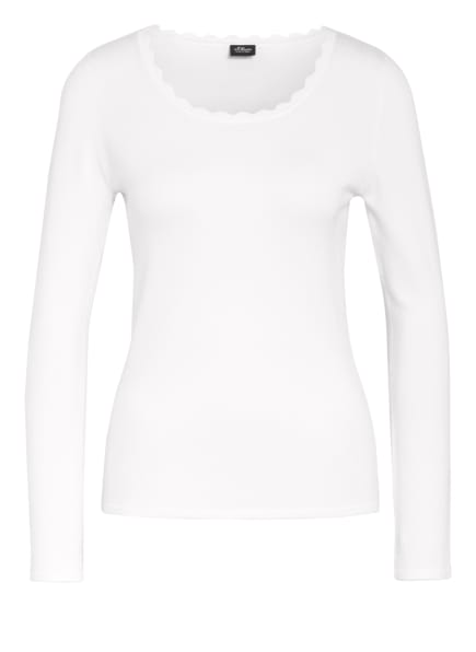 s.Oliver BLACK LABEL Pullover, Farbe: WEISS (Bild 1)