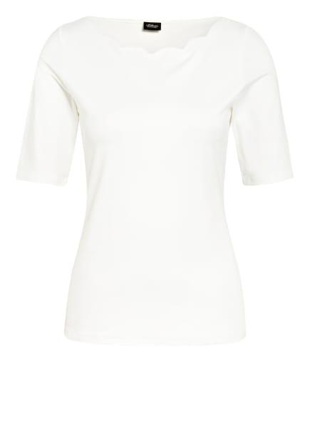 s.Oliver BLACK LABEL T-Shirt, Farbe: WEISS (Bild 1)