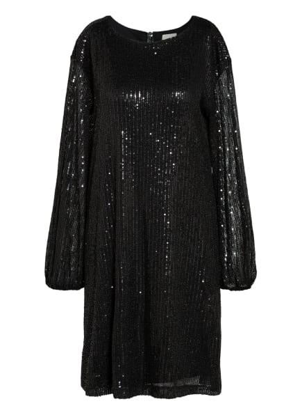 Mrs & HUGS Kleid mit Paillettenbesatz, Farbe: SCHWARZ (Bild 1)