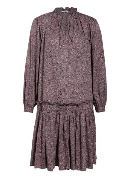 CLOSED Kleid KARI mit Rüschenbesatz, Farbe: DUNKELBLAU/ ROT/ WEISS (Bild 1)