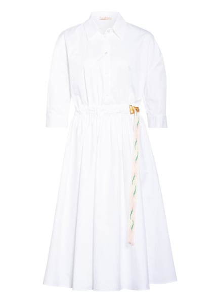 TORY BURCH Blusenkleid mit 3/4-Arm, Farbe: WEISS (Bild 1)