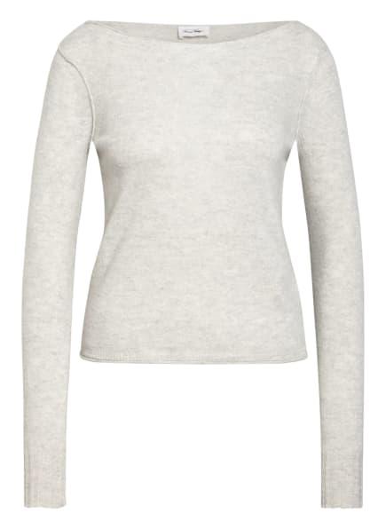 American Vintage Pullover BERABAY, Farbe: HELLGRAU MELIERT (Bild 1)