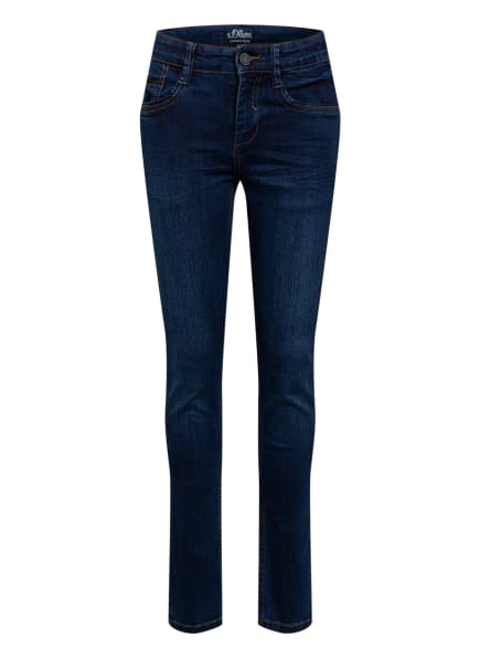 s.Oliver Jeans SEATTLE Super Slim Fit, Farbe: 57Z4 Dark Blue (Bild 1)