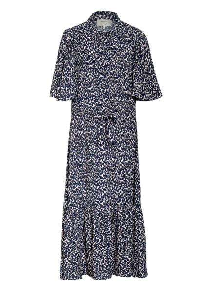 MUNTHE Kleid SORBUS, Farbe: DUNKELBLAU/ CREME (Bild 1)