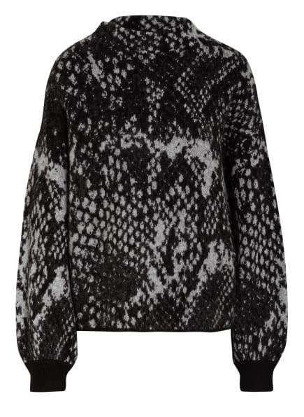 OPUS Pullover PNAKE, Farbe: SCHWARZ/ GRAU (Bild 1)