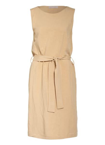 RINASCIMENTO Kleid mit Leinen, Farbe: BEIGE (Bild 1)