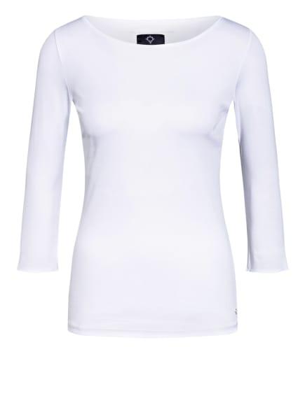 BOVIVA Shirt mit 3/4-Arm , Farbe: WEISS (Bild 1)