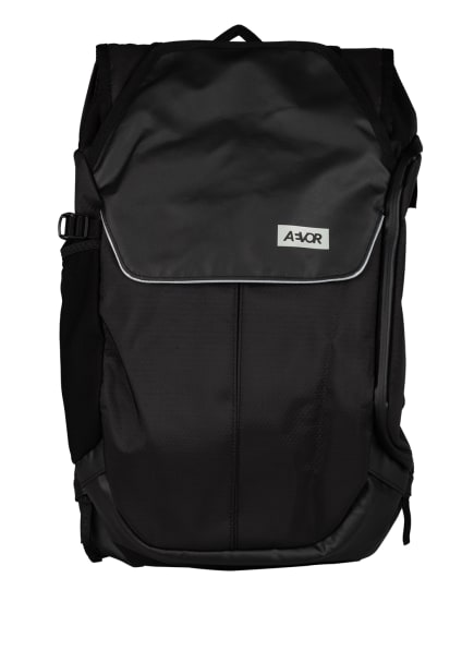 AEVOR Rucksack BIKE PACK 18 l (erweiterbar auf 24 l) mit Laptop-Fach, Farbe: SCHWARZ (Bild 1)