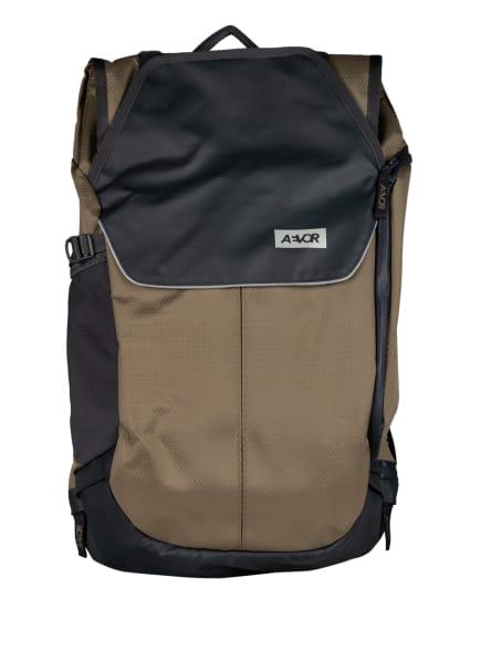 AEVOR Rucksack BIKE PACK 18 l (erweiterbar auf 24 l) mit Laptop-Fach, Farbe: GRAU/ BEIGE (Bild 1)
