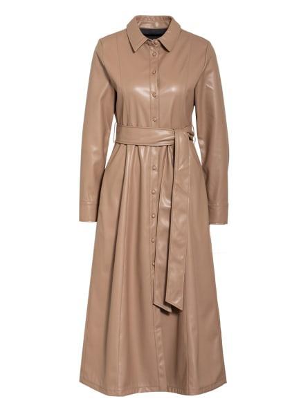 Mrs & HUGS Hemdblusenkleid, Farbe: CAMEL (Bild 1)