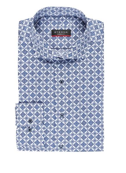 ETERNA Hemd Modern Fit, Farbe: WEISS/ BLAU (Bild 1)