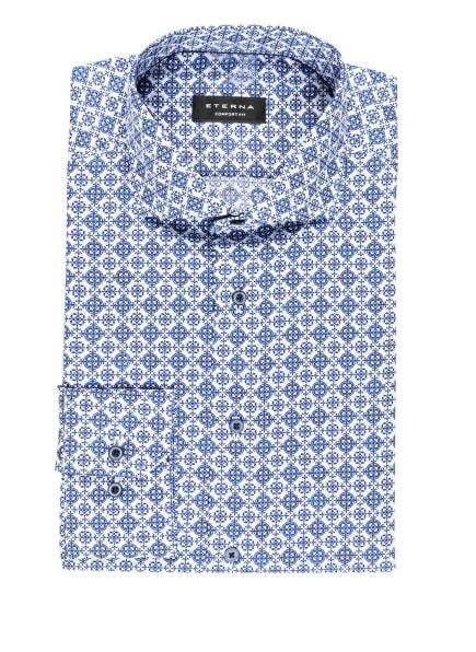 ETERNA Hemd Comfort Fit, Farbe: WEISS/ BLAU (Bild 1)