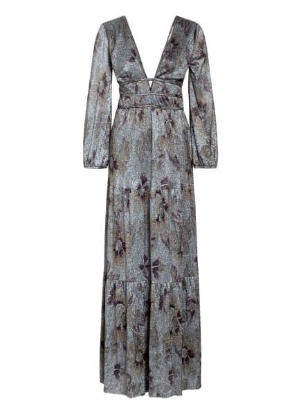 ba&sh Kleid, Farbe: SCHWARZ/ SILBER/ FUCHSIA (Bild 1)