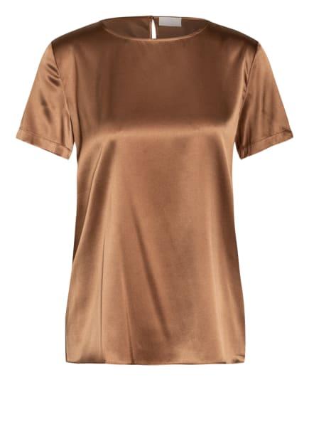 Mrs & HUGS Seidenshirt, Farbe: CAMEL (Bild 1)