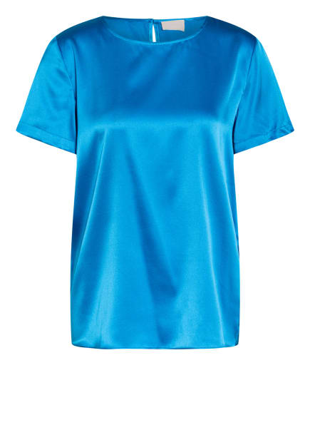 Mrs & HUGS Seidenshirt, Farbe: BLAU (Bild 1)