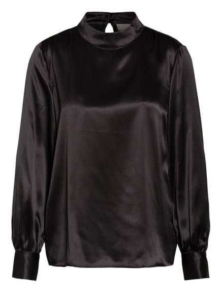 Mrs & HUGS Blusenshirt aus Seide, Farbe: SCHWARZ (Bild 1)