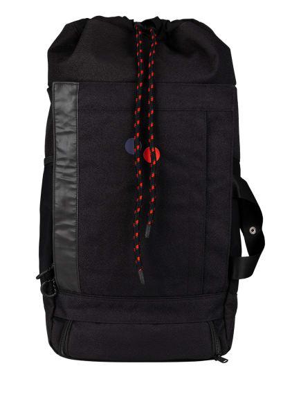 pinqponq Rucksack BLOK LARGE 40 l (erweiterbar auf 45 l), Farbe: SCHWARZ (Bild 1)