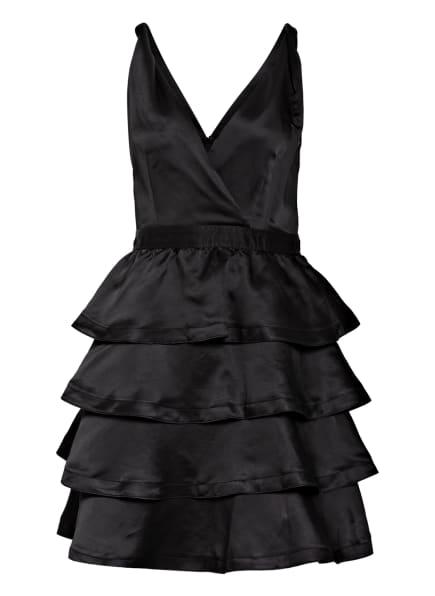 sandro Kleid mit Volantbesatz, Farbe: SCHWARZ (Bild 1)