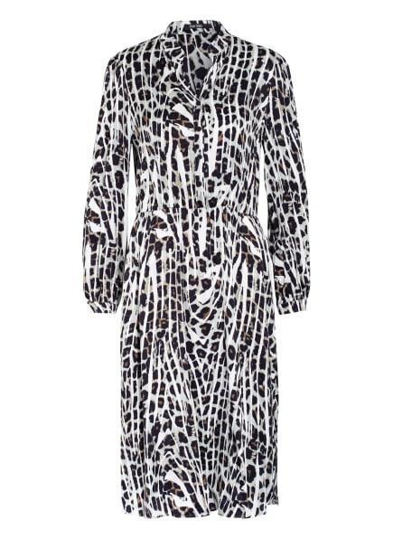 MARC AUREL Kleid mit 3/4-Arm , Farbe: HELLGRAU/ WEISS/ SCHWARZ (Bild 1)