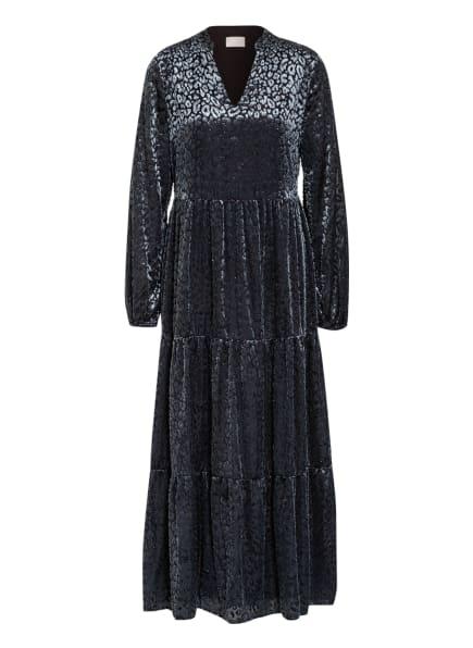 Mrs & HUGS Kleid, Farbe: SCHWARZ/ BLAUGRAU (Bild 1)