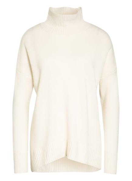 Mrs & HUGS Rollkragenpullover aus Cashmere, Farbe: WEISS (Bild 1)