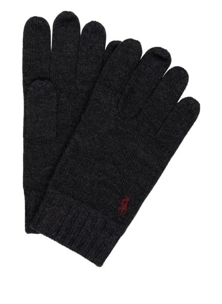 POLO RALPH LAUREN Handschuhe , Farbe: DUNKELGRAU (Bild 1)