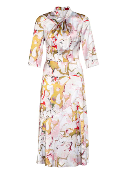 HUGO Kleid KIOSA mit 3/4-Arm, Farbe: CREME/ GRÜN/ ROSA (Bild 1)