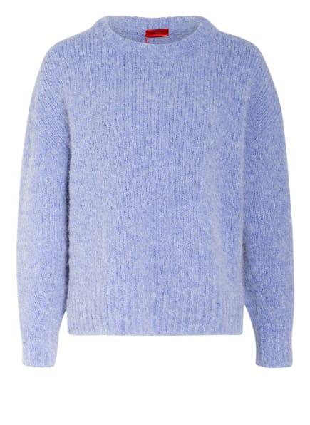 HUGO Pullover SKYLOR mit Alpaka, Farbe: BLAU (Bild 1)