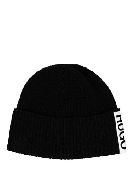 HUGO Alpaka-Mütze, Farbe: SCHWARZ (Bild 1)