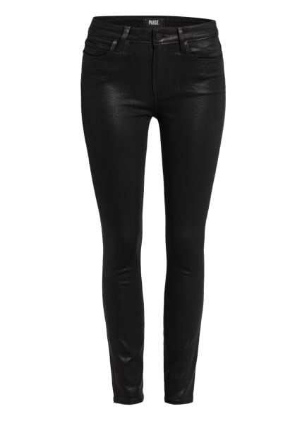 PAIGE Coated Jeans HOXTON ANKLE, Farbe: W3364 Black Fog Luxe Coating (Bild 1)