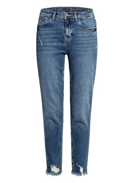 ONE MORE STORY 7/8-Jeans, Farbe: 4121 Mid Blue Washed (Bild 1)