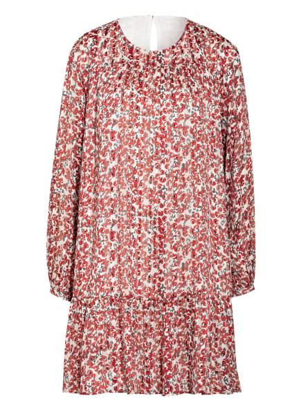 Mrs & HUGS Kleid mit Glitzergarnen, Farbe: WEISS/ ROT/ DUNKELGRÜN (Bild 1)
