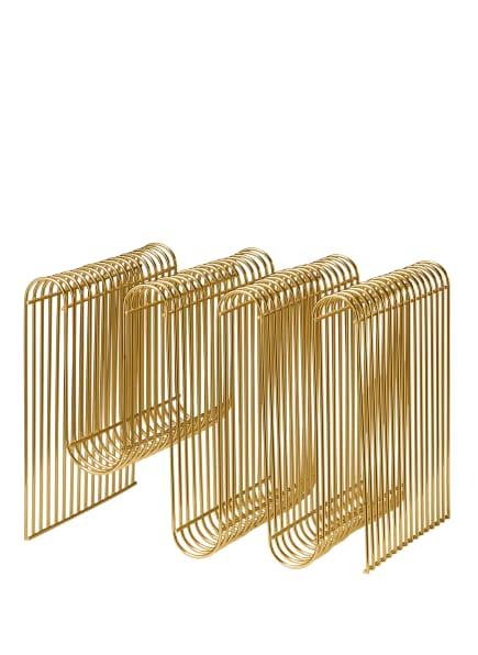 AYTM Zeitschriftenhalter, Farbe: GOLD (Bild 1)