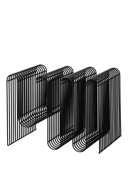 AYTM Zeitschriftenhalter CURVA, Farbe: SCHWARZ (Bild 1)