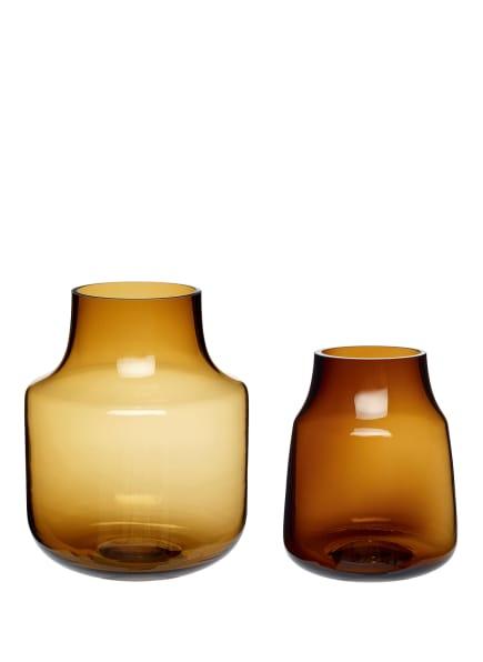 HÜBSCH 2er-Set Vasen , Farbe: BRAUN (Bild 1)