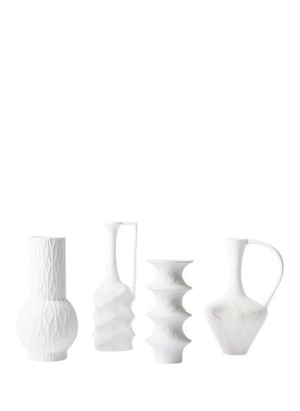 HK living 4er-Set Vasen, Farbe: WEISS (Bild 1)