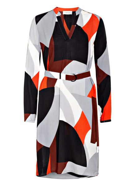 CARTOON Kleid, Farbe: SCHWARZ/ GRAU/ ORANGE (Bild 1)