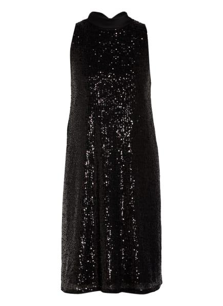 SWING Cocktailkleid mit Paillettenbesatz, Farbe: SCHWARZ (Bild 1)