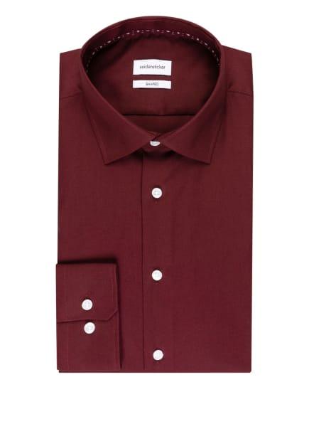 seidensticker Hemd Shaped Fit, Farbe: DUNKELROT (Bild 1)
