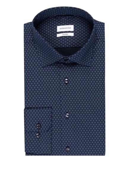 seidensticker Hemd Shaped Fit, Farbe: DUNKELBLAU/ BLAU (Bild 1)