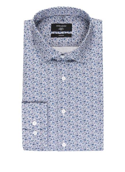 seidensticker Hemd Shaped Fit, Farbe: WEISS/ BLAU/ SCHWARZ (Bild 1)