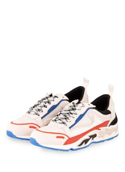 sandro Sneaker , Farbe: WEISS/ SCHWARZ/ ROT (Bild 1)